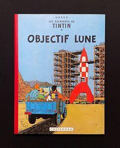 Hergé Tintin Objectif Lune B26 ED 1958 Comme Neuf Superbe.