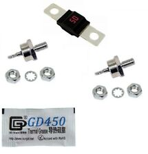 EZGO Powerwise Fuse & Resistor Rectifier Diode Kit 36 Volt Golf Cart Charger