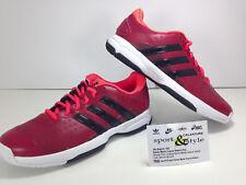 Adidas Equipment EQT Running SUPPORTO Primeknit PK RF NERO/ROSSO SOLARE UK 11