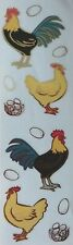 Mrs Grossman  CHICKENS Reflections 2009  Stickers