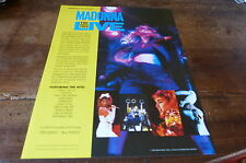 MADONNA - Plan média / Press kit !!! THE VIRGIN TOUR !!!