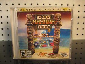 Big Kahuna Reef WinXP / Mac 2005 PC CDROM Puzzle Game mumbo jumbo