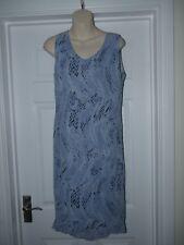 Ladies Blue Merrytime Dress Size 14