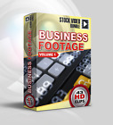 Stock Video Business Footage vol.1; 43 HD Royalty Free 1080p Video Clips
