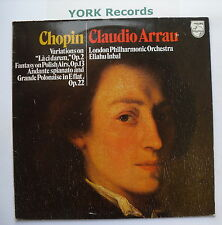 6500 422 - CHOPIN - Variations On La Ci Darem ARRAU / INBAL LPO - Ex LP Record