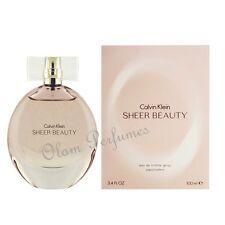 Calvin Klein Sheer Beauty For Women EDT Spray 3.4oz 100ml * New in Box *