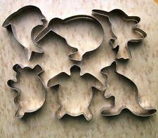 Australia animals ocean creature baking biscuit cookie cutter metal mold set