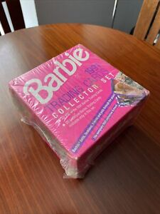 1991 BARBIE  trading cards Collector Set Mattel includes New In Box