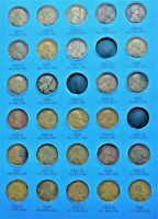 COINS FROM 1909-1940 WHEAT CENT/PENNY FOLDER (PAGE 2) NO FOLDER