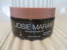 JOSIE MARAN WHIPPED ARGAN OIL BODY BUTTER UNSCENTED 8 OZ READ DETAILS INV# 289HJ