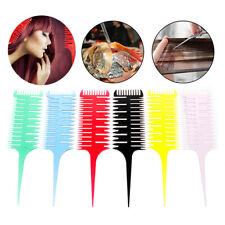 Hairdressing Comb 3-Way Sectioning Highlight Brush Hair Weave Styling Balayage