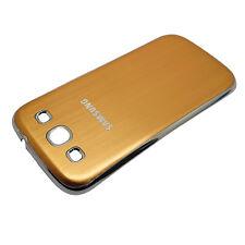 Akkudeckel Samsung i9300 i9305 Galaxy S3 LTE Metall Silber Chrom Alu Gold