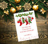 Personalised Christmas Xmas Thank You Cards Including Envelopes 31