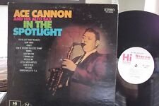 ACE CANNON IN THE SPOTLIGHT LP ON HI RECORDS