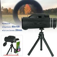 40x60 HD Monokular Teleskop Wasserdichtes tragbares Zoom Teleskop heiß I0A0