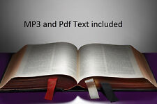 HOLY BIBLE OFFICIAL KING JAMES VERSION OLD & NEW TESTAMENTS MP3 AUDIO & TEXT