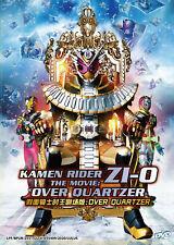 Kamen Rider Zi-O The Movie Over Quartzer DVD (English Subtitle)