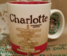 Starbucks Coffee City Mug/Tasse/Becher CHARLOTTE, Global Icon, NEU&unbenutzt!