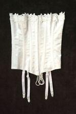 Crepe Suzette Foundations Victorian 4 Strap White Corset Size 32