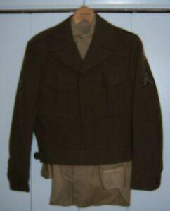 Korean War Army Ike Jacket with SCARWAF Patch