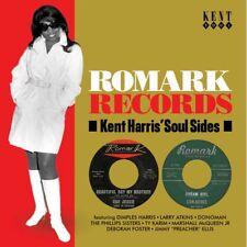 """ROMARK RECORDS  """"KENT HARRIS' SOUL SIDES""""  25 TRACKS CD"""