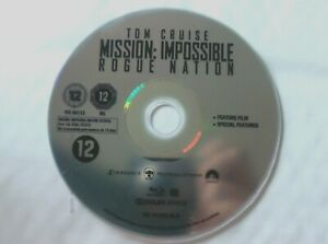 66548 Blu-ray - Mission Impossible Rogue Nation  2015