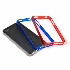 Incipio Trilogy Bumpers for iPhone 4/4S (Pack of 3) - Black/Red/Blue