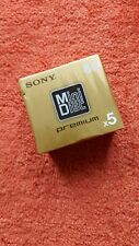 More details for sony mdw80pr 80 minutes recordable mini disc | 5 mini discs | new sealed