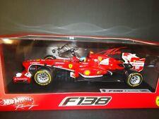 Hot Wheels Ferrari F138 Fernando Alonso 2013 BCK14 1/18
