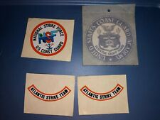 4 Vintage Us Coast Guard Decals Stickers