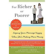 For Richer or Poorer: Keeping Your Marriage Happy When  - Paperback NEW Pappenhe
