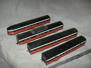 A5961 HO 4 ATHEARN NEW HAVEN RR STREAMLINE PASSENGER CARS