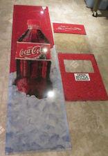 3 Piece Coca Cola Soda Vending Machine Light Up Plexi Panels