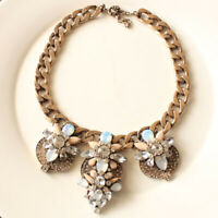 "New 16"" Jcrew Bib Statement Necklace Gift Vintage Women Party Holiday Jewelry FS"