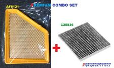 AF6131 C25836 COMBO ENGINE & CARBON CABIN AIR FILTER FOR 10 -16 EQUINOX TERRAIN