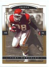 2003 Skybox Limited Edition TONY GONZALEZ #5 GOLD PROOF Die Cut Insert #38/150