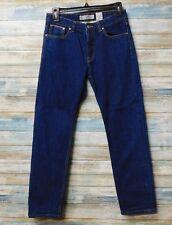 Women's Topshop Moto Rigid Selvedge Capri slim Skinny Jeans 25 x 26