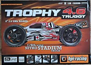 HPI Racing Trophy Truggy 4.6 1/8 Nitro 4WD 2.4GHz RTR - #107014