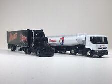 Lot Camion TOTAL et MARS (Échelle 1/87ème)