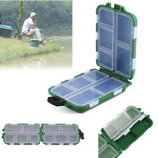 Fishing Lure Bait Tackle Waterproof Storage Box Case With10 Compartments Hot