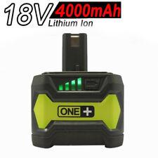 4.0AH 18V Li-ion Batterie pour Ryobi One Plus RB18L25 RB18L50 P108 P107 P780 FR
