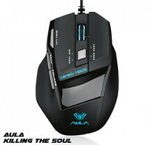 Aula Killing the Soul 2000DPI 7d Optical Wired Game Mouse Gaming Mouse