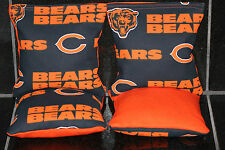 CHICAGO BEARS Cornhole Bean Bags Set of 4 ACA Regulation Tailgate Game Toss Bags