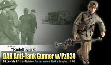 Dragon 1/6 Scale 12'' WWII German DAK Anti-Tank Gunner Rudolf Kierst 70820
