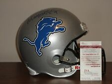 Matthew Stafford Signed Full Size Detroit Lions Football Helmet PROOF JSA CERT