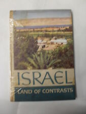 AAVV - ISRAEL LAND OF CONTRASTS - ED. LION THE PRINTER