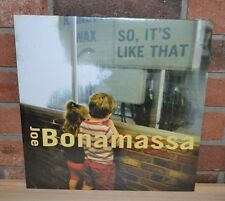 JOE BONAMASSA - So, It's Like That, Import 180 Gram BLACK VINYL LP New & Sealed