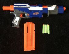 NERF Alpha Trooper CS-12 Pump Weapon Gun & Darts Bullets
