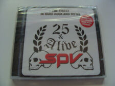 25 & Alive SPV / The Finest in Hard Rock And Metal / 2 CD / Neu