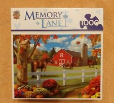Master Pieces Memory Lane 1000 Piece Jigsaw Puzzle Pastures of Chance - NEW